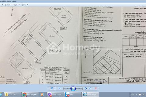 Bán nhà Phan Đăng Lưu, Phú Nhuận 8x18m (140.5m2) 7 lầu, thang máy