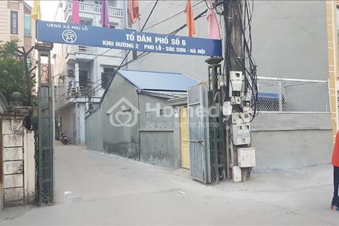 Cho thuê nhà mới xây tại Phù Lỗ, Sóc Sơn, Hà Nội