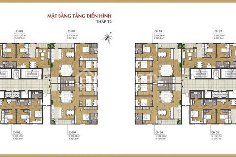 Bán căn hộ 1606, chung cư Times Tower, 127,8m2, T2, giá 32 triệu/m2