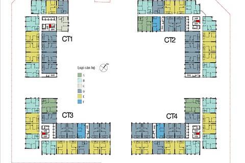 Chính chủ bán chung cư Eco Green City, 1202 - CT2 75,16m2 và 1613 - CT1 84,36m2, giá 24 triệu/m2
