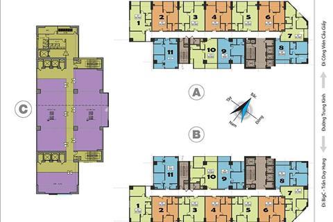 Bán lỗ 200 triệu căn hộ chung cư 219 Trung Kính, 1611A - 67m2 và 1808 - 69,99m2 giá 31 triệu/m2