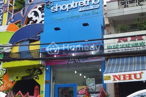 Cho thuê mặt bằng mặt tiền đường Nguyễn Thị Minh Khai - phường 5 - quận 3