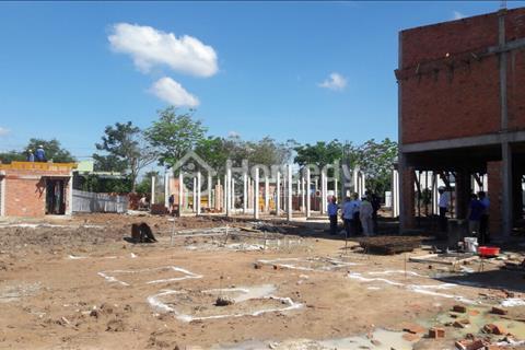 Bán và cho thuê kiot chợ xây sẵn 1 trệt 1 lầu ngay trung tâm Bến Cát