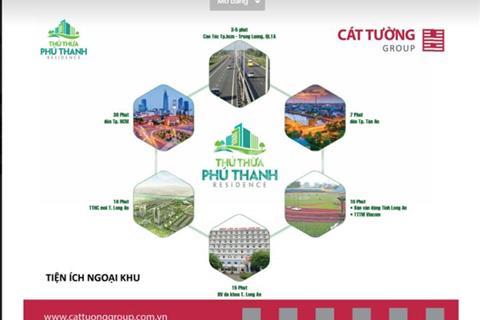 Thủ Thừa - Phú Thanh Residence Cát Tường chính thức mở bán tháng 12/2017 giá chỉ 512 triệu/nền