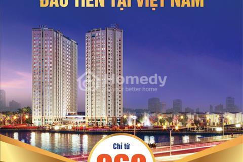 Saigon Intela - Chưa đến 1 tỷ/căn 2 PN 2 toilet, khi bạn có 300 triệu và muốn mua nhà tại Nam SG