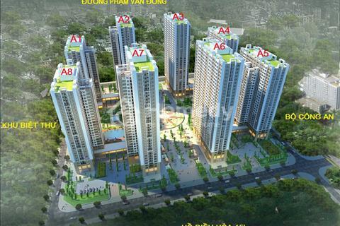 Chung cư Phạm Văn Đồng, diện tích 84m2, 3 phòng ngủ, giá 29 triệu/m2