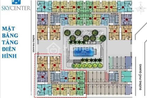 Cần tiền bán gấp CH sky center 129m2, view hồ bơi giá 4,7 tỷ bao phí bàn giao hoàn thiện LH xem nhà