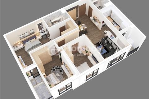 Thiết kế 3D các căn hộ từ 2 phòng ngủ đến 4 phòng ngủ chung cư cao cấp B6 Gỉang Võ
