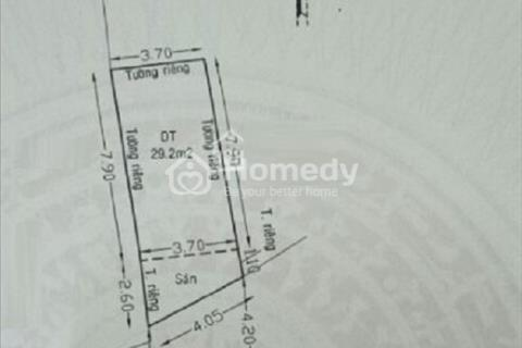 Bán nhà hẻm xe hơi đường Bà Hom, Phường 13 Quận 6, 36m2, 1 lầu, sổ hồng chính chủ, giá 2,7 tỷ