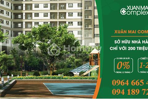 860 triệu căn hộ 2 phòng ngủ tại Hà Đông - mua nhà đón tết - trả góp lãi suất 0%