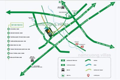 Cơ hội đầu tư bất động sản-tiềm năng lớn nhất khu phía Tây Hà Nội-Khu đô thị mới Dương Nội
