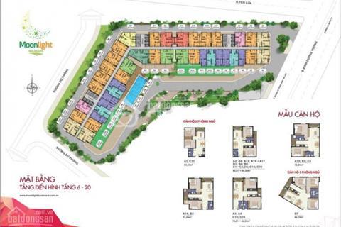 Bán căn hộ 1 phòng ngủ 51m2 tại dự án Moonlight Boulevard Bình Tân khu Tên Lửa giá 1,2 tỷ