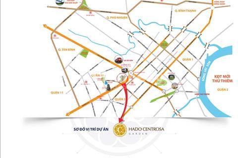 Trái tim của quận 10 dự án Hado Centrosa mặt tiền Ba Tháng Hai