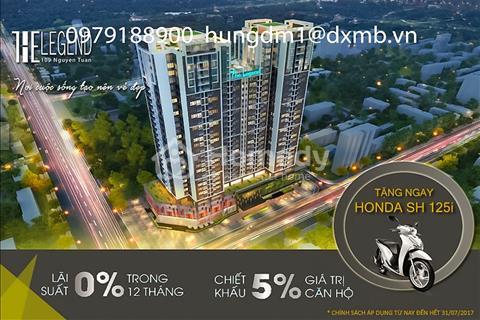 Từ 350 triệu đã sở hữu căn hộ 64m2 đường Nguyễn Tuân rồi