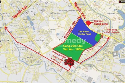 Bán suất ngoại giao, lô liền kề R2 - 82,5m2, mặt đường đôi gần công viên vào tên trực tiếp hợp đồng