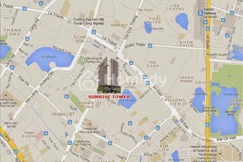 Bán chung cư Sunrise Tower, 187 Tây Sơn, Đống Đa, Hà Nội