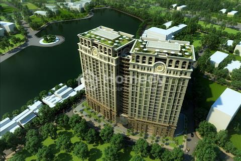 Bán căn hộ tầng đẹp chung cư cao cấp D'. Le Pont D'or Hoàng Cầu, căn hộ bàn giao thô