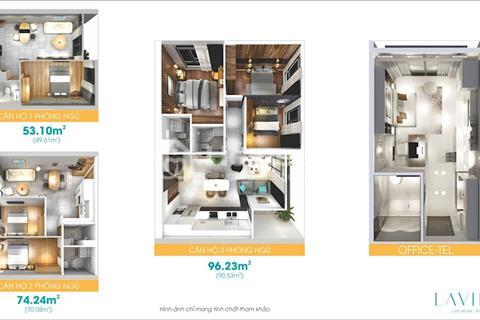 Mở bán tầng 9 - 12 Officetel và căn hộ Lavida Plus, giá từ 1tỷ/căn, tặng 4 chỉ 9999