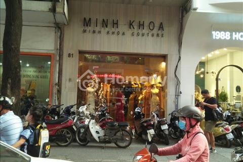 Cho thuê nhà mặt tiền Phan Văn Đạt, Phường Bến NGhé, Quận 1.