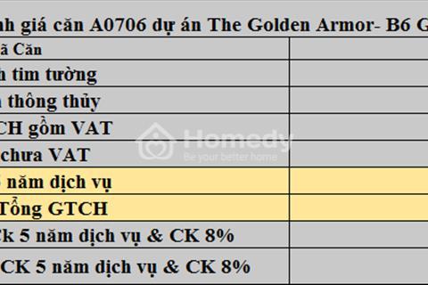 The Golden Armor- B6 Giảng Võ chính sách mới giá không thể không tốt hơn chỉ còn 50-55 triệu/m2