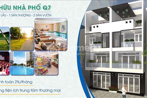Khu nhà phố Thuận Phát quận 7 – 1 trệt, 3 lầu, 1 sân thượng chỉ từ 4,1 tỷ cùng với nhiều tiện ích