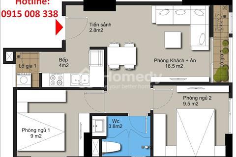 Chung cư cho người thu nhập vừa và thấp, chỉ từ 350 triệu đã được sở hữu căn hộ 2ngủ, full nội thất