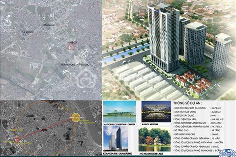 Chính chủ bán gấp căn Vimeco 2 CT4 Nguyễn Chánh, căn 16-1B (148m2),18-3B ( 141m2), giá 27 triệu/m2
