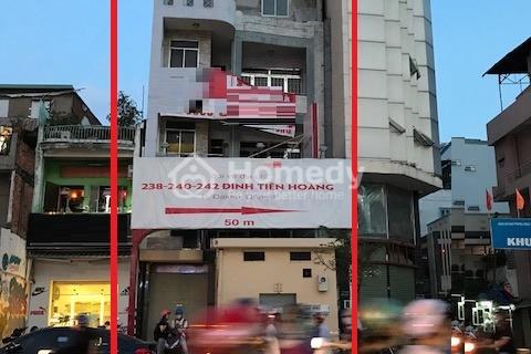 Cho thuê tòa nhà Đinh Tiên Hoàng, phường 1, quận Bình Thạnh