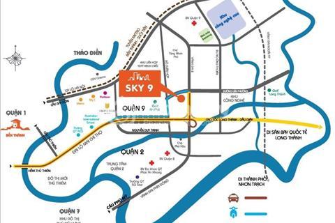 Bàn giao căn hộ chung cư phong cách Hàn Quốc Sky 9, phường Phú Hữu, Quận 9 giá chỉ 950 triệu/căn