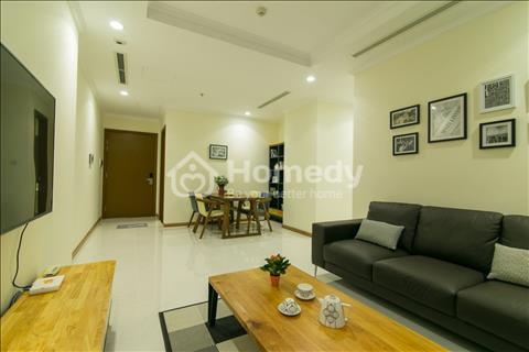Cho thuê căn hộ Vinhomes 2 phòng ngủ, full nội thất cao cấp view sông, công viên bao rộng.