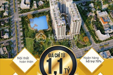 Chỉ với 1,1 tỷ bạn sẽ sỡ hữu ngay căn hộ, 2 phòng ngủ, dự án LakeView Tower trên đường Phan Văn Hớn