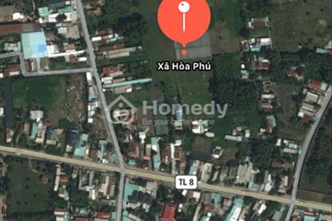 Thông tin thật chính xác, đất ngay phim trường thành phố Hồ Chí Minh, Hòa Phú, cách tỉnh lộ 8 170m