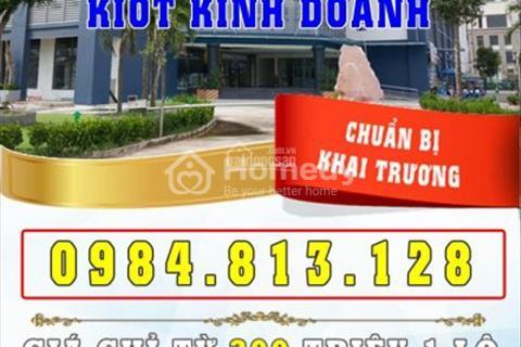 Bán và cho thuê ki ốt kinh doanh chung cư Nam Xa La