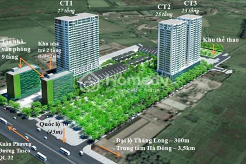 Bán gấp căn hộ CT3  Dream Town 85m2, 1,625 tỷ