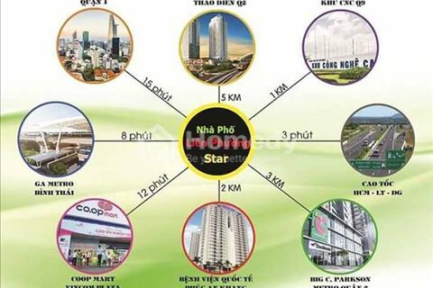 Bán nhà phố mặt tiền đường Liên Phường, ngay Trung tâm quận 9 giá chỉ 2,3 tỷ/căn