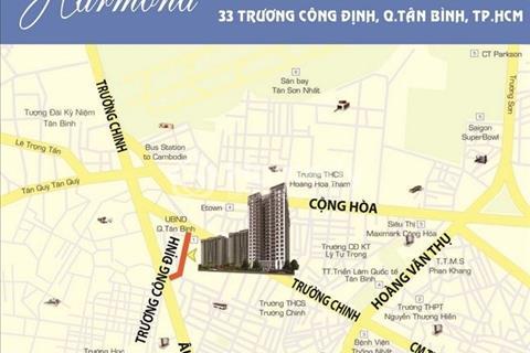 Cho thuê chung cư Harmona - 2 phòng ngủ - 76m2 - 11.5 triệu/tháng