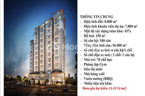 Căn hộ trung tâm quận 8, mặt tiền Đại lộ Võ Văn Kiệt, giá chỉ 23,3 triệu/m2