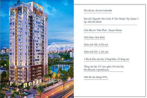 Mở bán đợt 1 căn hộ phong cách Nhật - Ascent Lakeside Quận 7