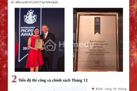 Vinhomes Metropolis niềm kiêu hãnh cùng giải thưởng bất động sản đứng đầu khu vực châu Á