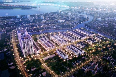 Khu compound khép kín đầu tiên của quận 7, chỉ còn hơn 40 lô đất biệt thự ven sông