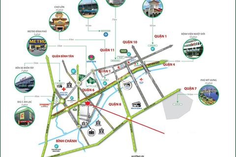 Bán căn hộ Duplex 20 triệu/m2- mặt tiền Võ Văn Kiệt