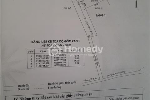 2 tỷ sở hữu ngay 8 căn phòng trọ khang trang đường Lê Văn Lương - Nhơn Đức