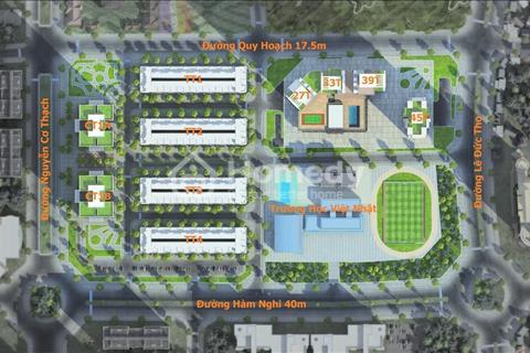 Chiết khấu ngay 280 triệu khi mua liền kề Mon City, cơ hội sinh lời đầu tư đất nền