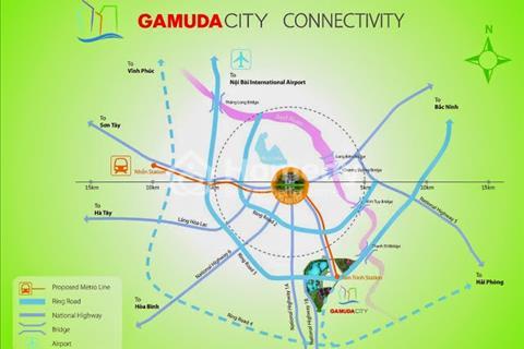 Phong cách Tây cùng căn hộ Penthouse giữa lòng thủ đô, Khu đô thị Gamuda Garden