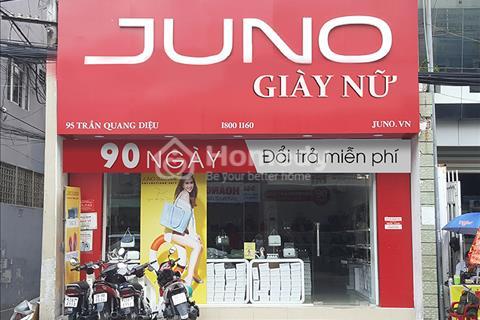 Cho thuê nhà nguyên căn mặt tiền Trần Quang Diệu - Phường 13 - Quận 3.