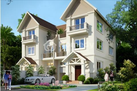 Bán gấp biệt thự song lập 242m2, 4 tầng, lô đẹp nhất dự án, bán trước tết (chính chủ)