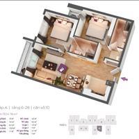 Bán cắt lỗ căn hộ 73m2 chung cư Hồ Gươm đầy đủ nội thất, sổ đỏ chính chủ, ban công phòng khách