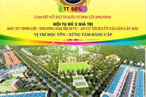 Mở bán khu đô thị mới DRG Complex City Central Gate mặt tiền đường Quốc Lộ 1A 400 triệu/nền CK 15%
