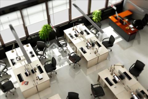 Văn phòng Phú Mỹ Hưng quận 7 đã setup bàn ghế sẵn