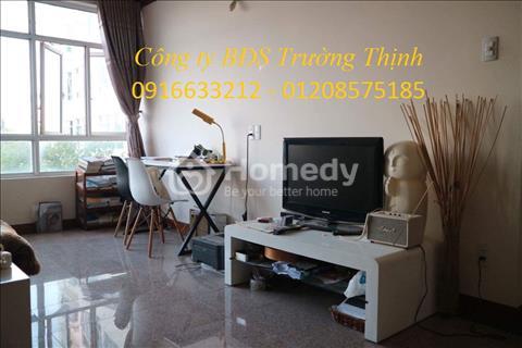 Căn hộ 96m2 thiết kế 2 phòng ngủ, 2 toilet, nhà đã trang bị đầy đủ nội thất nhà như hình